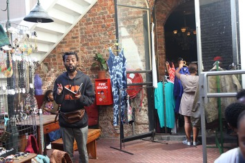 Thrift stalls at Kitcheners Cravery Bar. Photo: Me