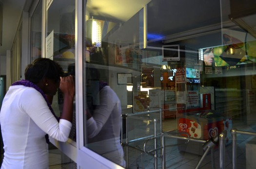 NOTHING TO SEE: The Friendly Supermarket at the Matrix looks set to remain closed. Photo: Pheladi Sethusa