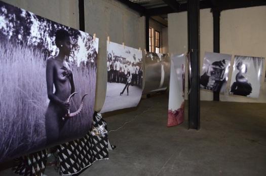 Thato Mohuba's line of prints