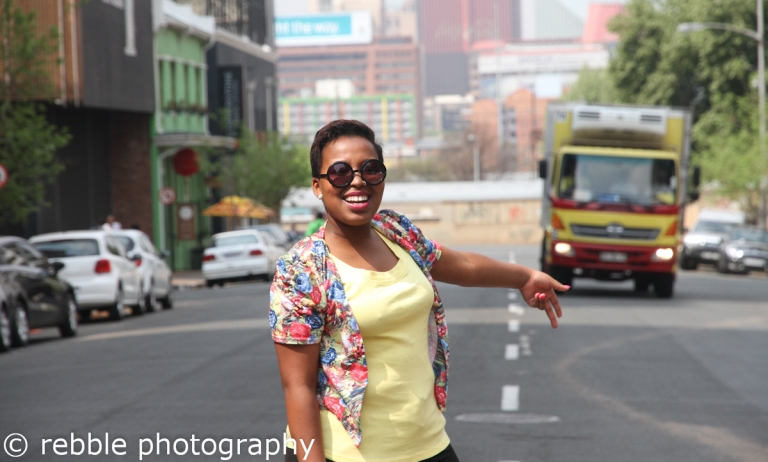 Sibusisiwe Nyanda looking gorg. Photo: Pheladi Sethusa