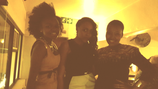 Thuli, Dini and Busi bringing that African Queen vibe