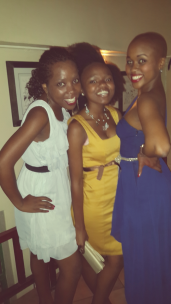 Snap and pose. Emelia, Thuli and Shandu.
