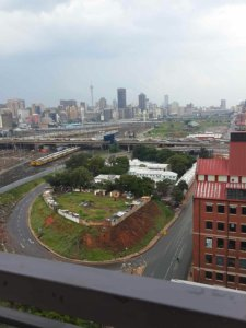 A view from the eastern most side on Mill Junction's rooftop. Photo: Pheladi Sethusa