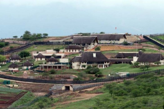 FILE PICTURE: A general view of President Jacob Zuma's private Nkandla home. Picture: AFP PHOTO / Stringer