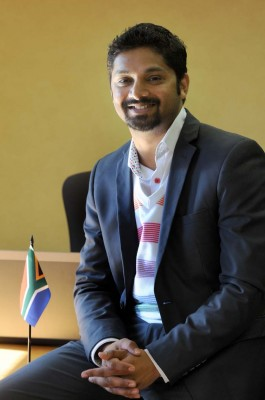 National Youth Development Agency Chairperson Yershen Pillay speaks to The Citizen in Midrand, Johannesburg, 19 June 2014. Picture: Nigel Sibanda