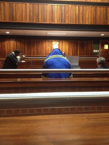 N12 crash truck driver Isaac Maruding in the Palm Ridge Magistrate's Court. Pic: Tracy Lee Stark.