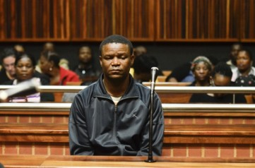 Truck Driver, Isaac Wade Maruding appears in court, 12 November 2014, at the Palmridge Magistrate's court on the East Rand. Maruding is accused of causing an accident on the N12 near Alberton that damaged over 40 vehicles and killed 3. The case was postponed to 23 January 2015. Picture: Alaister Russell